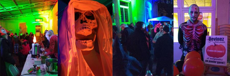 Une fête d'Halloween réussie!